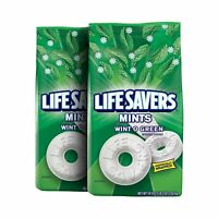LIFE SAVERS Mints Wint-O-Green Hard Candy, 50-Ounce Party Size Bag (Pack of 2)