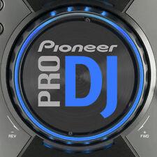 PIONEER CDJ400 PRO DJ (BLUE) JOG DIAL SLIPMAT GRAPHICS /  SERATO TRAKTOR CDJ 400