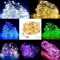 USB 10M 100LED 8-Mode String Copper Wire Fairy Lights Wedding Xmas Party Decor