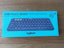 New Logitech K380 Wireless Bluetooth Compact Keyboard Dark Grey 920-007558