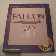 Spectrum Holobyte Falcon 3.0 vintage PC game flight simulator big box