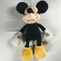 """Disney Store Mickey Mouse Plush Large 19"""" Stuffed Authentic Stamped Patch Beans"""