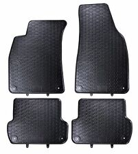 GUMMIMATTEN AUTO-FUSSMATTEN SATZ AUDI A4 B6 B7 SEAT EXEO ST TOP ARTIKEL