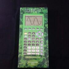 Guerrilla Silicone Case for Ti83 Plus Calculator Green Cover Ti-83+ Protector