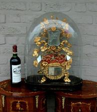Majestical Antique Victorian Bridal wedding dome globe 1880