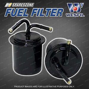 Wesfil Fuel Filter for Subaru Liberty BC5 BC6 BC7 BD6 BD7 BF6 BF7 BG7 BG8