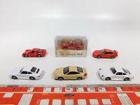 CG516-0,5# 6x Herpa H0/1:87 Modell Porsche: 959 + 911 IAA `97 + 996, NEUW+1x OVP