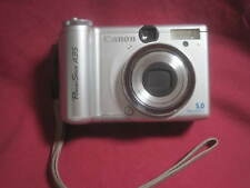 Canon PowerShot A 95 5MP Silver Untested - sold for parts