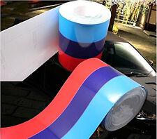 "79""/2M ///M-Colored Stripe Auto Car Body Modifield Vinyl Sticker Emblem for BMW"