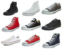 Converse Unisex Chuck Taylor Classic All Star Lo OX Hi Tops Canvas Trainers New