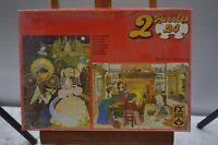 ANCIEN PUZZLE CENDRILLON 2 X 24 PIECES POUR ENFANT EDUCATIF COMPLET