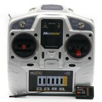 MicroZone MC6C 2.4G 6CH Controller Transmitter Receiver Radio System for RC R4N9