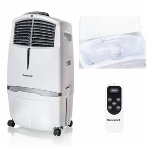 Honeywell 525-729CFM Portable Evaporative Cooler, Fan & Humidifier with Ice Comp