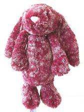 Jellycat -  Bashful Blackberry -  Special Edition Soft Maroon & White Mix Bunny