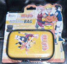 1 ASTUCCIO CASE NINTENDO DS/LITE/3DS BAG ANIME NINJA MANGA-NARUTO,SAKURA,SASUKE