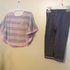 Youngland Little Girl outfit Pink & Gray sparkly threads NWT Reg. $44 SZ 6