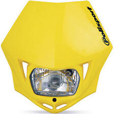 POLISPORT MMX Headlight Enduro Road Legal YELLOW Headlamp