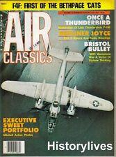Air Classics Magazine Aug.78 Ju-52 Bristol Bullet RCAF Kittyhawk Mosquito B-25