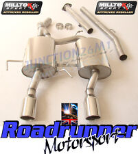 Milltek SSXRN416 Clio 182 Stainless Exhaust System Cat Back Non Res & De Cat
