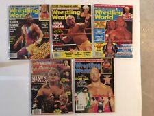 Lot of 5 1991,92,95,99 Savage Hogan Wrestling World   WWF