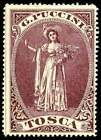 """Italy Poster Stamp - Publicity - 1900 Opera """"Tosca"""" by G. Puccini"""
