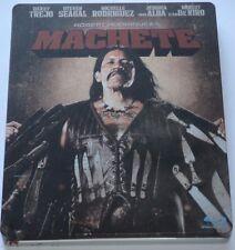 Machete - Blu-ray/Action/Danny Trejo/Steven Seagal/Steelbook/FSK 18