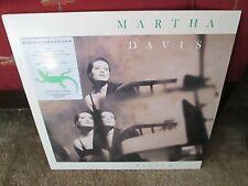 MARTHA DAVIS-Policy/Radio Station Audio Cue Card Interview-Promo Vinyl LP-Motels