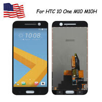 Black for HTC 10 One M10 M10H LCD Display Digitizer Touch Screen Replacement AAA