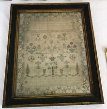 English Embroidery Sampler. Sarah Tulley 1831. Georgian Period
