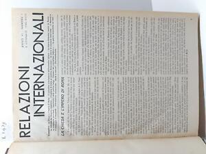Seconda Guerra Mondiale Relazioni internazionali 1940  dal numero 1 al numero 26