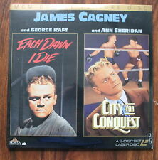 EACH DAWN I DIE/ CITY FOR CONQUEST LASERDISC NEW CAGNEY