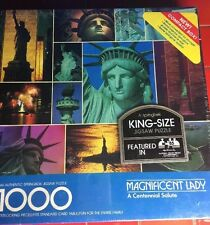 Statue of Liberty Puzzle Springbok king size Hallmark Sealed 1000 pieces NEW