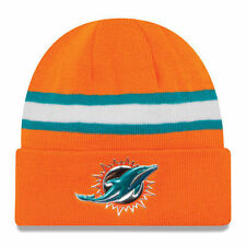 Miami Dolphins 2016 NFL On Field Color Rush Orange Knit Sport Hat Cap Beanie Lid
