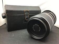 Olympus Soligor 500mm F:8 Mount Mirror Lens No 17132 Made In Japan SW223