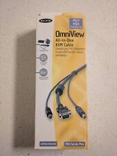 Belkin OmniView All-In-One KVM Cable, PS/2 VGA, 10 Ft.