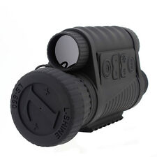 6X50 Digital IR Night Vision Monocular 350m Zoom Camcoder Binoculars Telescopes
