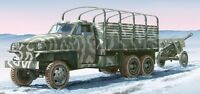 Italeri 1/35 Lend Lease U S Truck With ZIS-3 Gun Model Kit 6499