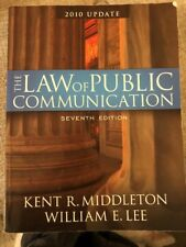 The Law Of Public Communication (2010 Update 7th Edition)