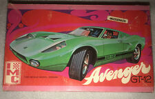 IMC Avenger GT-12 plastic model 1/25 scale Volkswagon Fiberfab 1960 2 versions