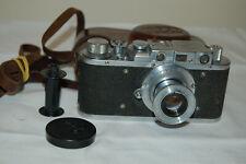 FED 1 (type F) Vintage 1953 Soviet Rangefinder Camera & Case. No.417310. UK Sale