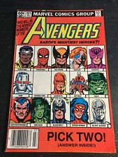 Avengers#221 Awesome Condition 5.0(1982) She-hulk,Hawkeye Join Team
