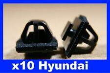 For HYUNDAI 10 door card fascia trim scratch panel cover moulding fastener clips