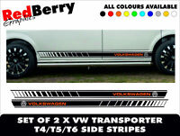 029 VW T5 T4 TRANSPORTER CAMPER MOTORHOME STRIPES VAN SURF VINYL DECALS GRAPHICS