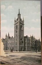 Irish Postcard ASSEMBLY BUILDINGS in BELFAST Northern Ireland Lawrence Saxony