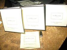 Jo Malone 4 x 0.05 oz vial sample fragrances; 1 x 0.24 oz sample body & hand was