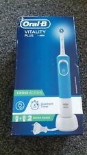 BRAUN ORAL-B VITALITY PLUS CROSSACTION RECHARGEABLE TOOTHBRUSH