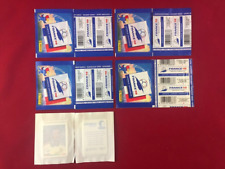 Panini World Cup France 98 WC 1998 Collection Packets 5 Different