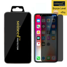 SOINEED Privacy Anti-Spy REAL Tempered Glass Screen Protector For Apple iPhone X