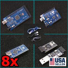 Arduino CH340G MEGA2560 UNO R3 Nano v3 Pro Mini & Programmer ATMEGA328 Super Kit