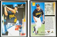 Abraham Nunez Signed 1998 Pinnacle #161 Card Pittsburgh Pirates Auto Autograph